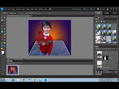Photoshop Elements 9 - Out Of Bounds Picture
