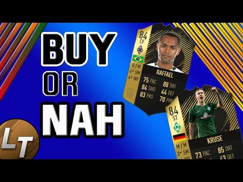 IF Raffael v. IF Kruse Player Review!  |  Buy or Nah Versus Edition  |  FIFA 18 Player Review Series