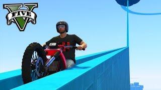 GTA V Online: SKILL TEST do ESCORREGADOR GIGANTE!!! (MOTOS)