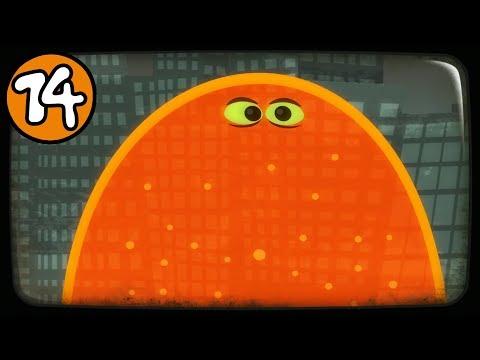 ЛИЗУН ГЛАЗАСТИК съел все вокруг игра Tales From Space: About A Blob на канале Мистер Игрушкин