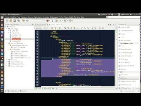 Create JSF Web Database Application