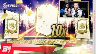 THE BEST ICON PACKS YOU'LL SEE! 10 ICON PACKS w/ CASTRO1021! | FIFA 20 ULTIMATE TEAM
