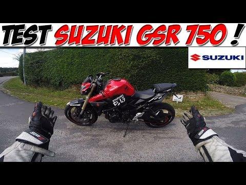 #Moto Vlog 98 : TEST SUZUKI GSR 750 / CONCURRENTE DU Z800 ? 😍