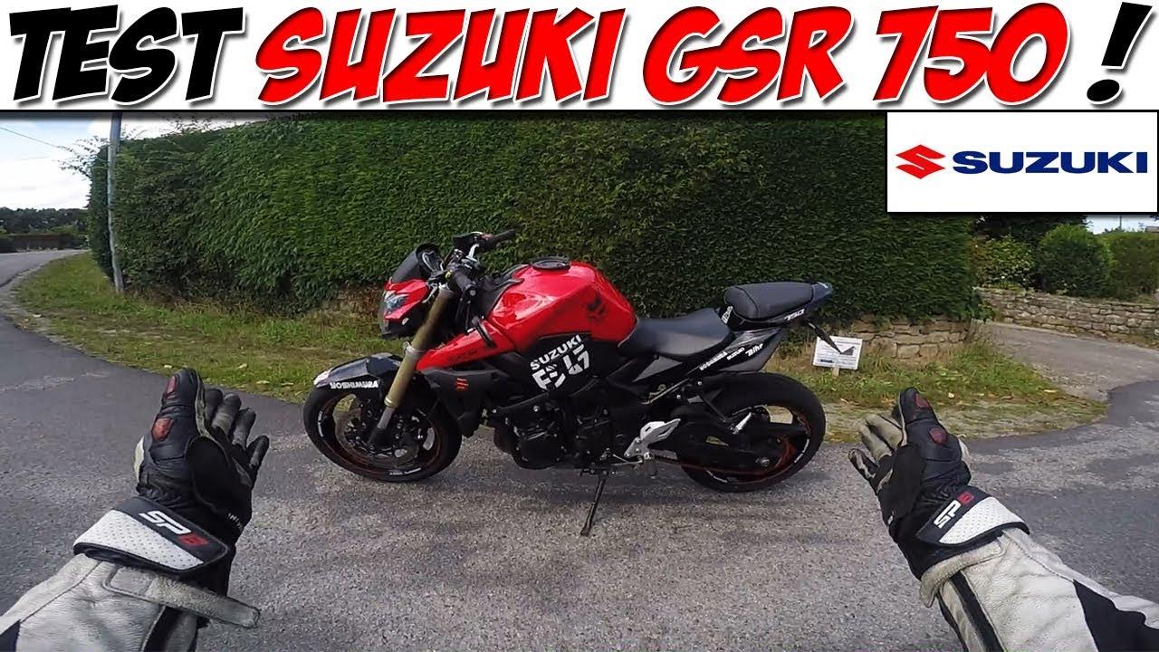 Download #Moto Vlog 98 : TEST SUZUKI GSR 750 / CONCURRENTE DU Z800 ? 😍
