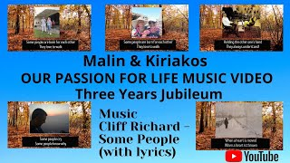 Vår Resa - Our Passion For Life - Music Video - Cliff Richard - Some People (with Lyrics)