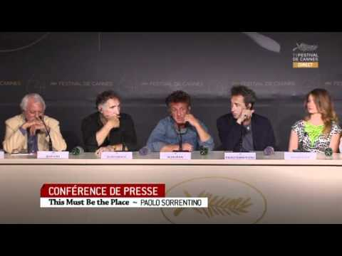 This Must Be The Place Full Press Conference - Cannes Film Festival 2011