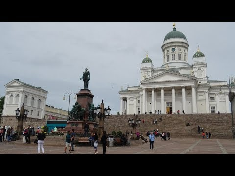 NORWEGIAN GETAWAY Baltic Cruise 2017 - Day 7 Helsinki, Finla