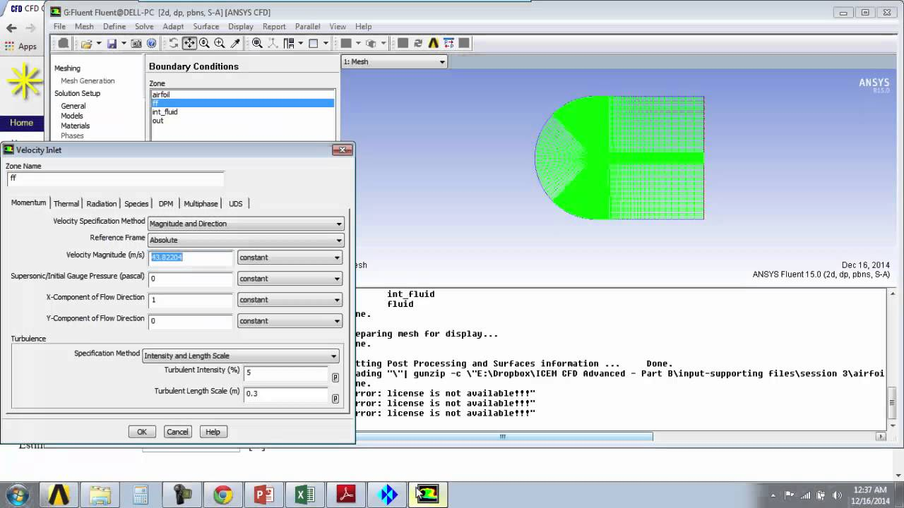 how to change materials in ansys