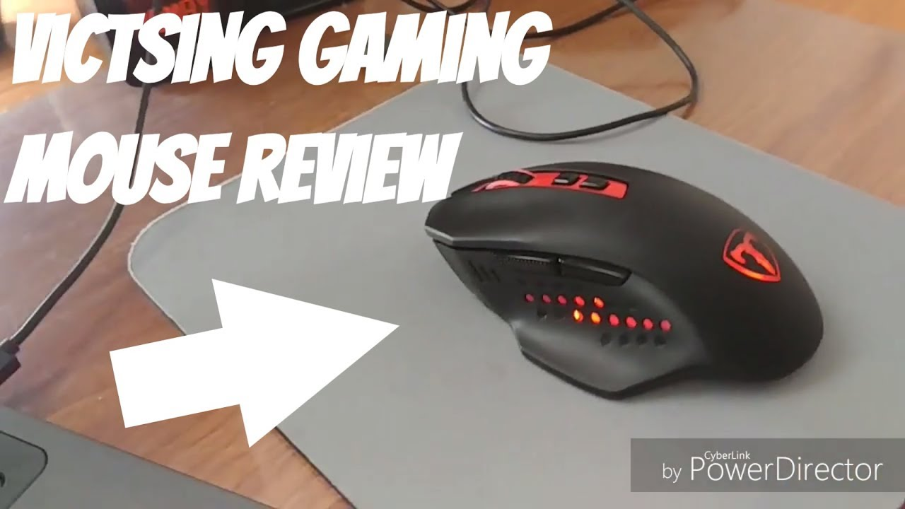 VicTsing 7 Button Wireless Gaming Mouse Review