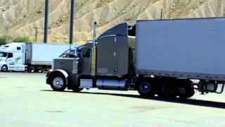 semi trucks parking