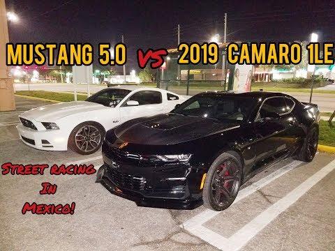 2019 Camaro 1LE vs Mustang 5.0
