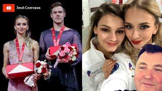 Синицина и Кацалапов ПРОТИВ Варёной Сгущенки Танцы на Rostelecom Cup 2019