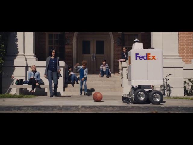 FedEx testa robô em entregas rápidas