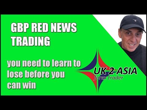 GBP Red News Trading - How To Trade Forex