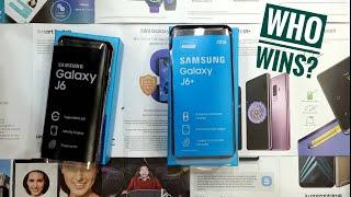 Samsung Galaxy J6+ vs Samsung Galaxy J6
