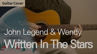 Written In The Stars John LegendWendy Guitar Cover Tab Chord Tutorial 기타커버 코드 타브악보