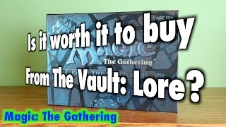 mtg is it worth it to buy from the vault lore for magic the gathering
