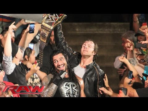 Roman Reigns vs. Bray Wyatt: Raw, June 1, 2015