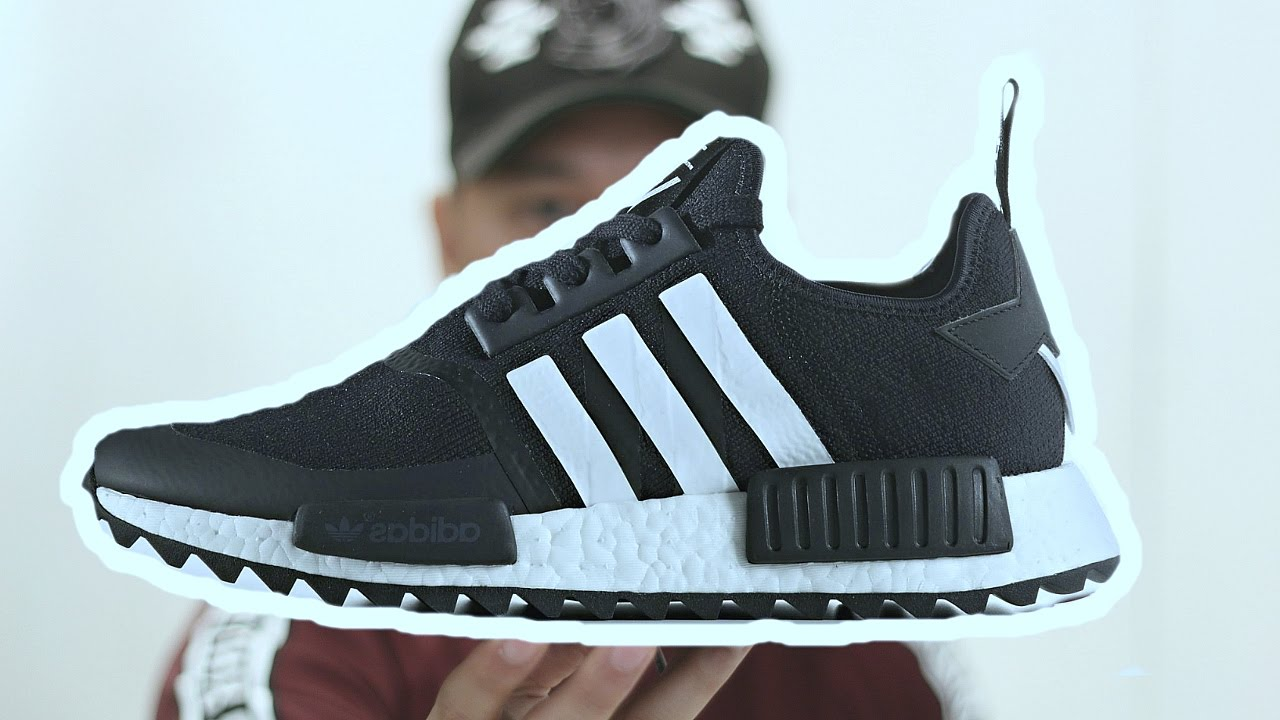 af9bebc88841 Adidas White Mountaineering NMD Trail Review - YouTube