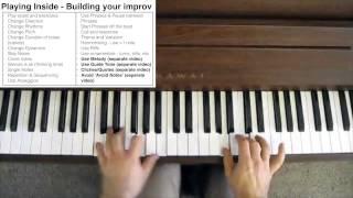 Jazz Improvisation - Learning to play 'Inside'