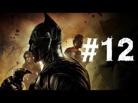 Injustice Gods Among Us Gameplay Walkthrough Part 12 - Wonder Woman - Chapter 12