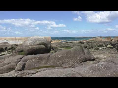 Kerfissien Beach, Place du Port, 29233 Cléder, Finistère, Brittany, France 26th April 2016