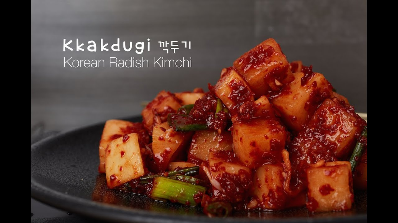 Kkakdugi radish kimchi recipe crazy korean cooking youtube forumfinder Choice Image