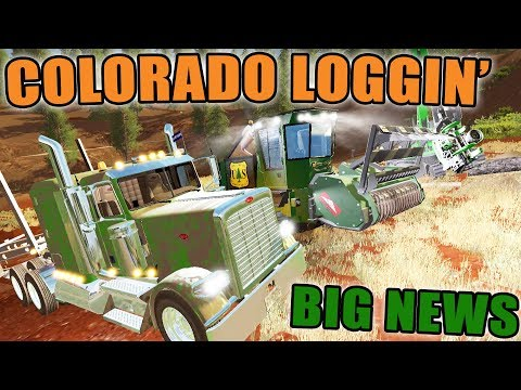 BIG LOGGING SERVER | OPEN SERVER | COLORADO MAP | FARMING SIMULATOR 2017