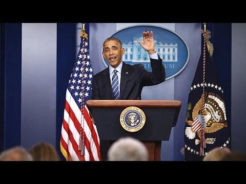 Koltuğunu Trump'a devredecek olan Barack Obama'nın son basın toplantısını tr.euronews.com…