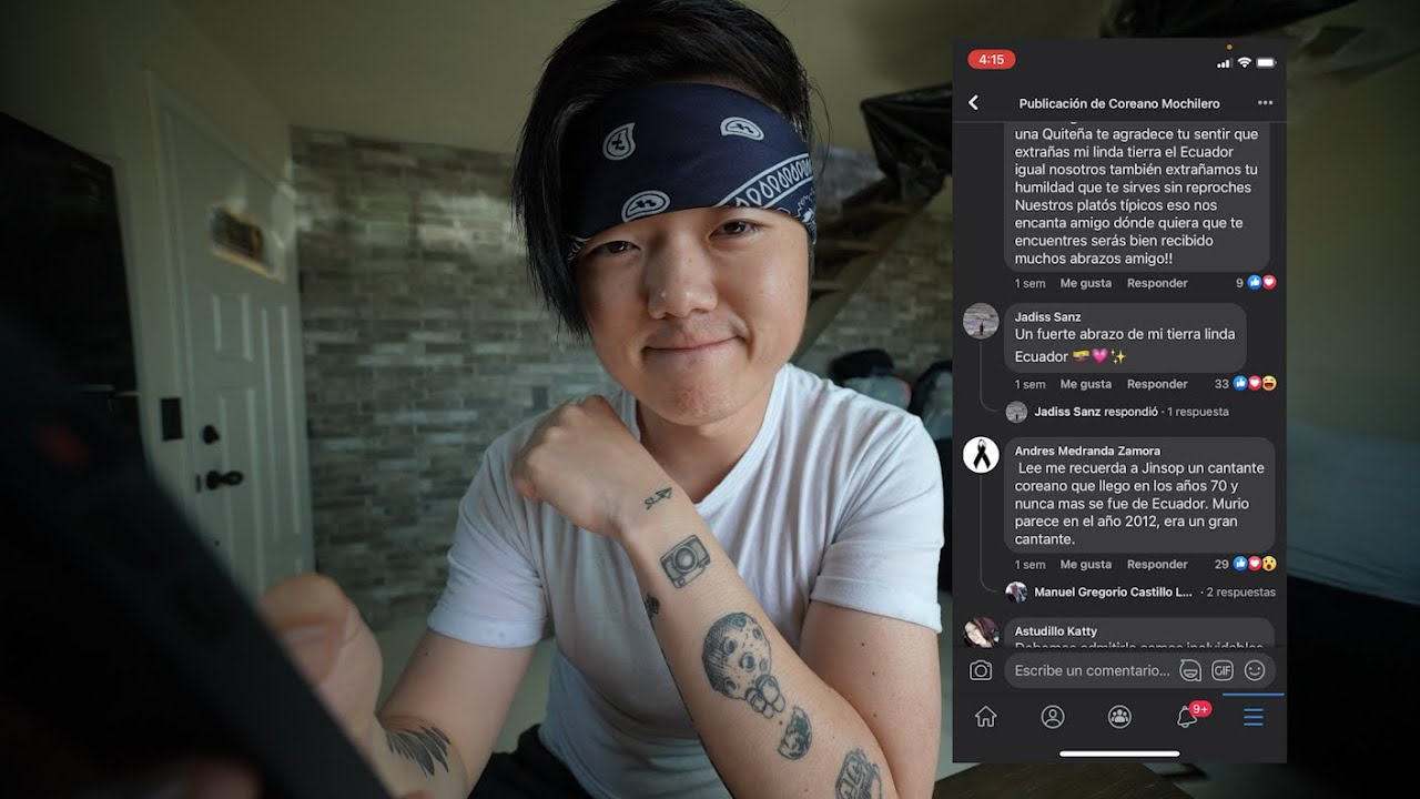Leyendo sus comentarios 😁 FB (Extraño ECUADOR)