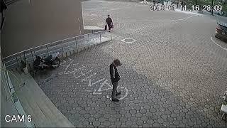 Trộm xe Airblade CT1A1 Linh Đàm 11/01/2018