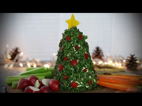 Angie Ward - Holiday Recipe Of The Day: Christmas Tree Cheese Ball and more!