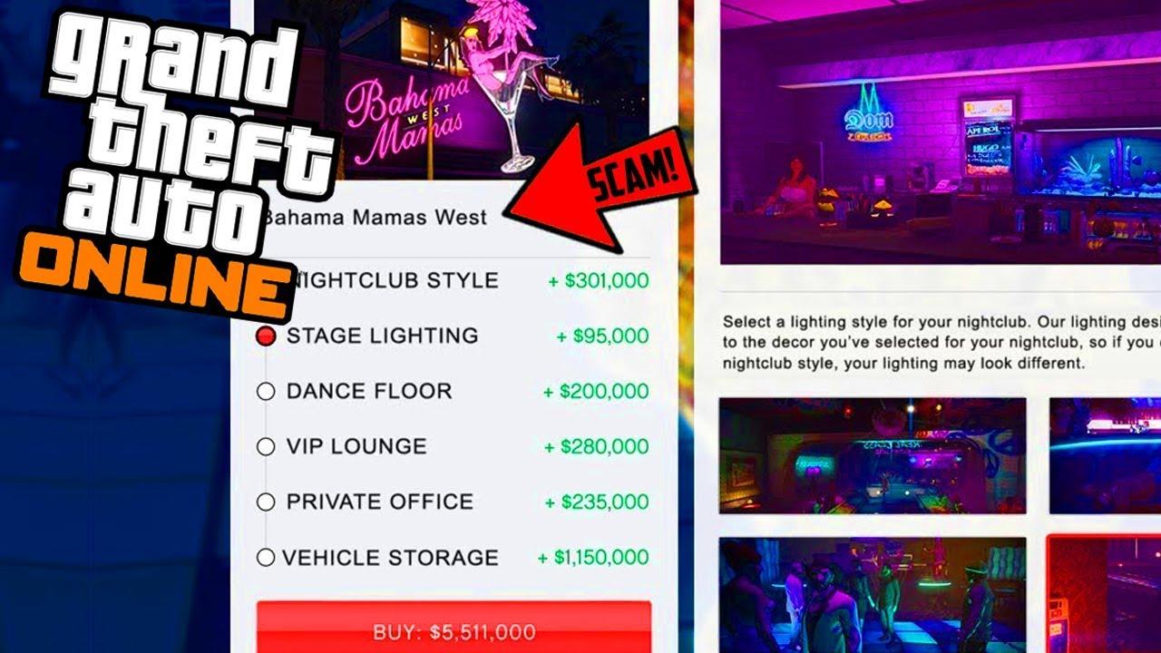 gta online nightclub upgrades cost