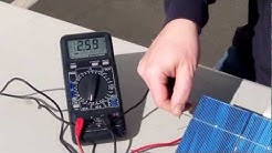 How to test a solar cell by ML Solar