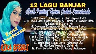 Gambar cover Kumpulan Lagu Lagu Banjar(lirik) Voc. Rika Efendi Musik Panting Banjar Tepian Indah Samarinda Kaltim