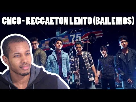 CNCO - REGGAETON LENTO (BAILEMOS) REACTION