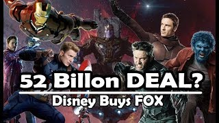 Disney-Fox Deal | X-Men, Fantastic Four, Deadpool in MCU?