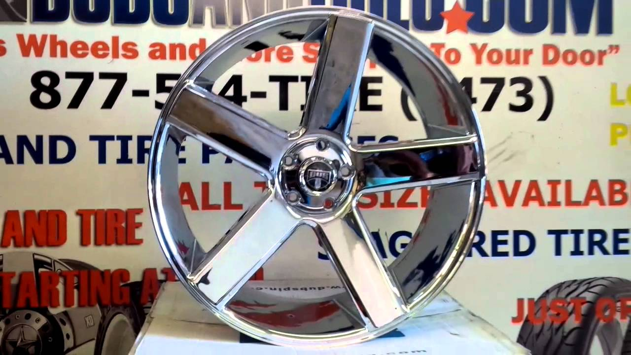 877 544 8473 24 Inch Chrome Dub Baller Rims Concave Wheels Old