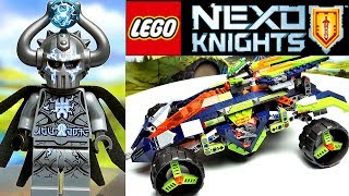 Лего Нексо Найтс Скалолаз Аарона 70355 Обзор LEGO Nexo Knights 2017 Aaron's Rock Climber