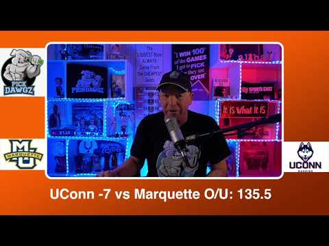 UConn vs Marquette 2/27/21 Free College Basketball Pick and Prediction CBB Betting Tips