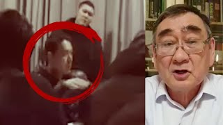Профессор КазГУ обвиняет полицейских.  Посмотрите, как ведёт себя полицай из Петропавловска / БАСЕ