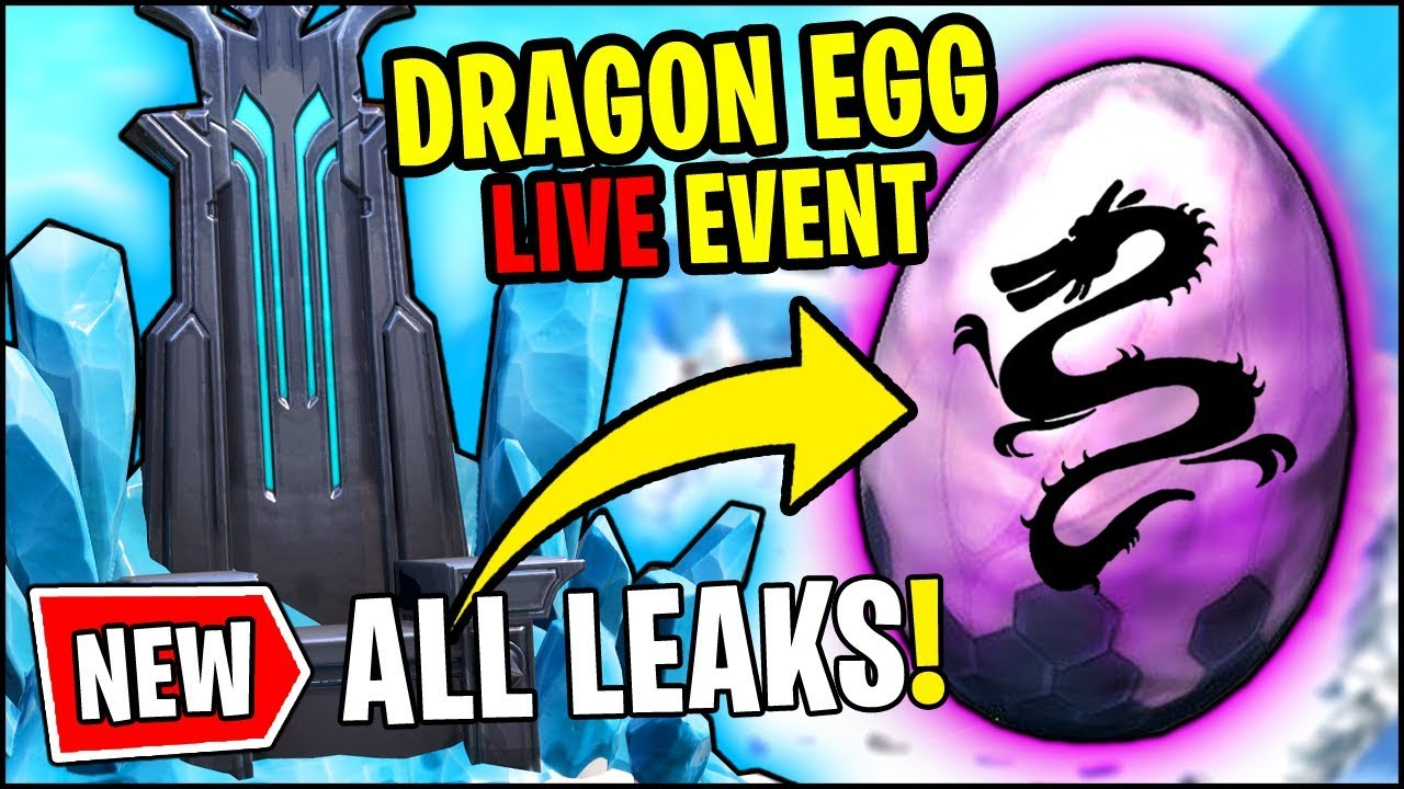 *ALL* Fortnite v7.10 LEAKS - DRAGON EGG LIVE EVENT, FREE ...