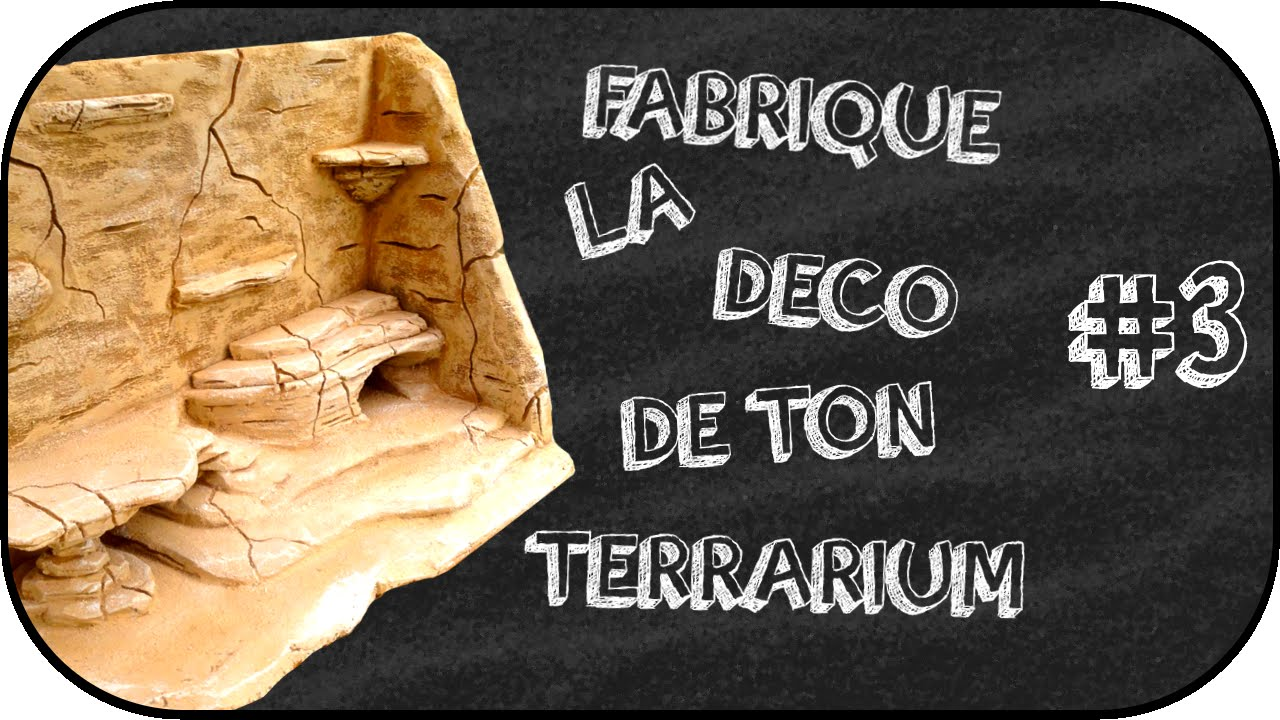 tuto fabrication d 39 un d cors fond de terrarium 3. Black Bedroom Furniture Sets. Home Design Ideas
