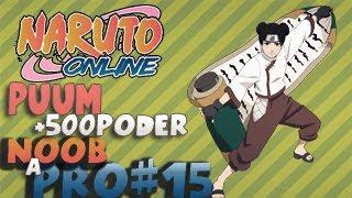 TRUCO para subir 400 de Poder Naruto Online NOOB A PRO #15