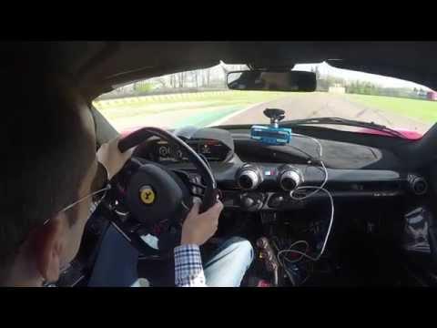 Lapping Fiorano in the Ferrari LaFerrari Hypercar
