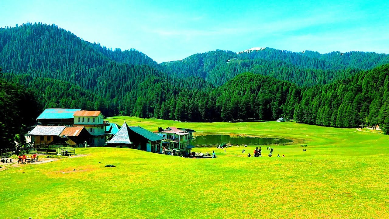 खज्जियार Khajjiar-Mini Switzerland Of India-Chamba ...