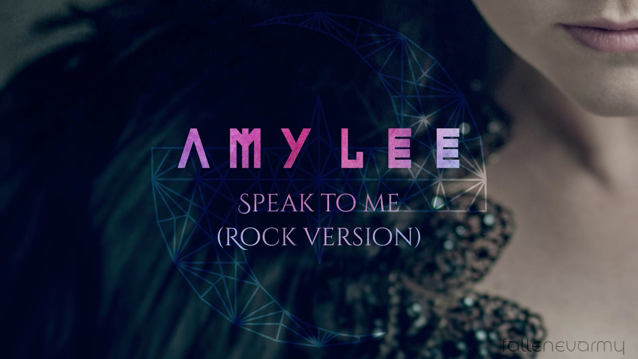 Amy Lee - Speak To Me (Rock Version) by TerryMusic