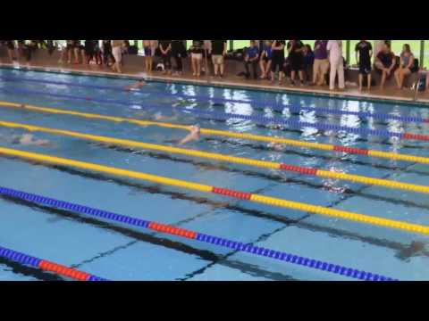 James Millar 200m breaststroke Portsmouth Easter meet 2017