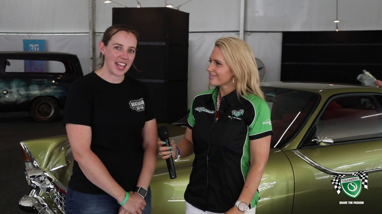 Street Machine Summernats 32 - Tail Spin - Kylie Perry chats with Sandra Horne - Shannons
