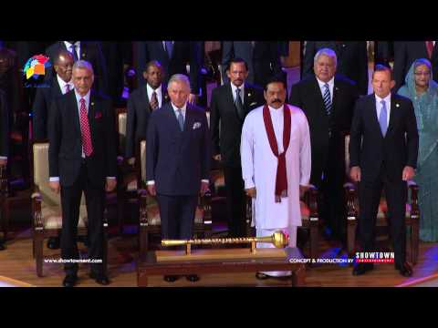 CHOGM 2013 Opening Ceremony - National Anthem of Sri Lanka - Special Rendition